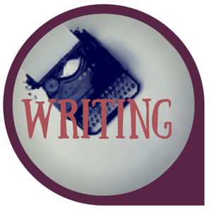 Writing logo